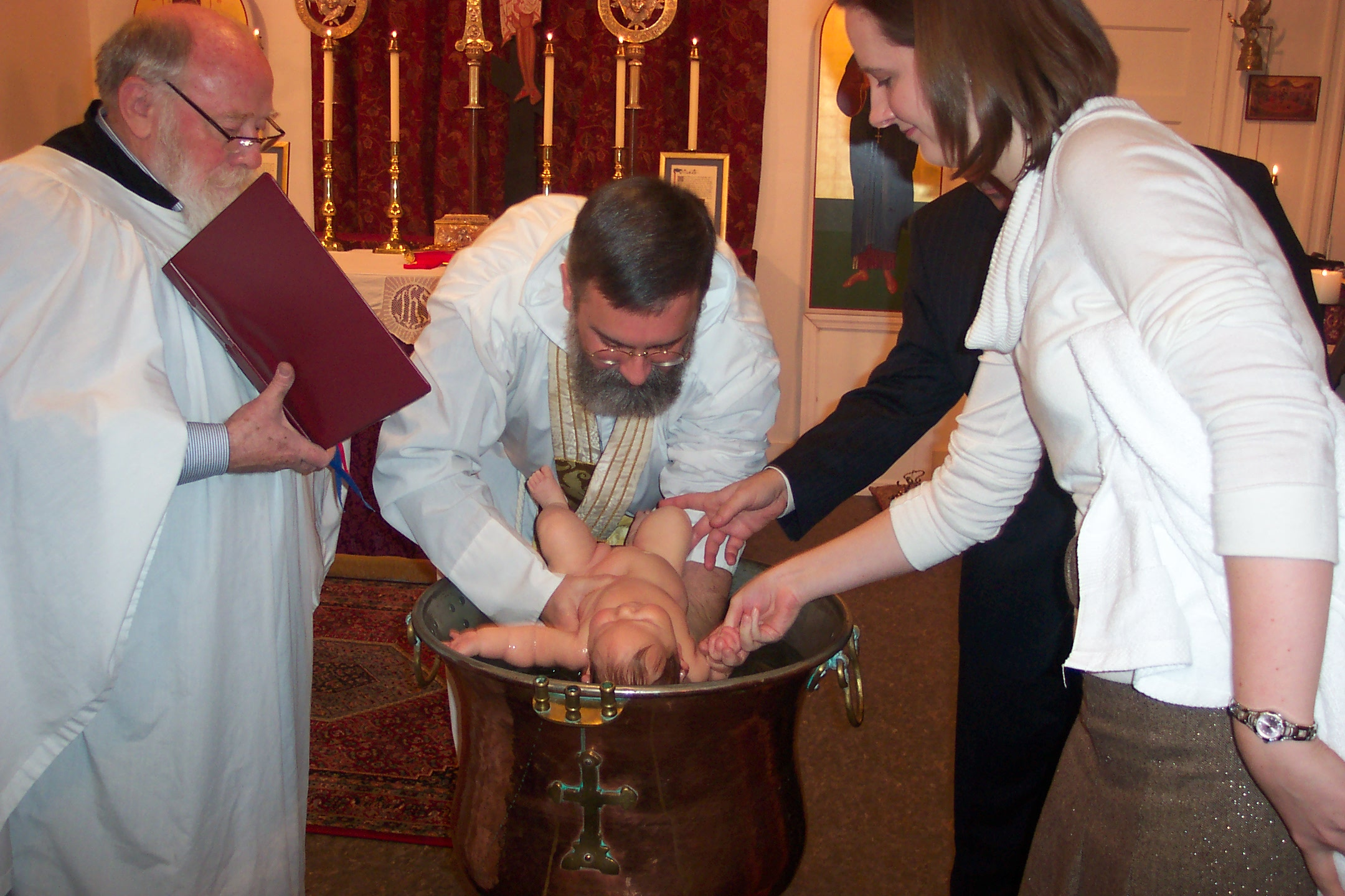 The ceremonies of holy baptism and chrismation biocorpaavc Choice Image