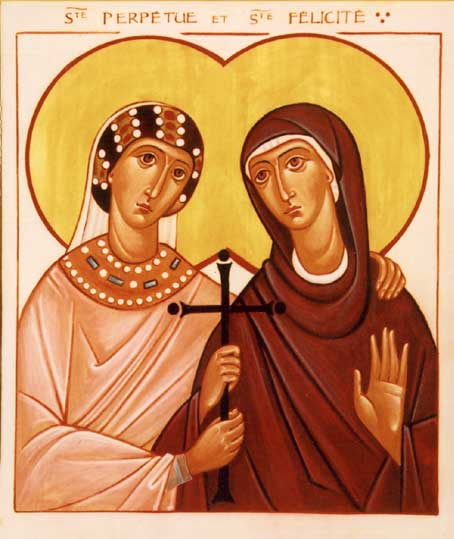 the martyrdom of perpetua and felicity Perpetua and felicity were christian martyrs who lived felicity was afraid that she would not give birth before the day set for their martyrdom and her companions.