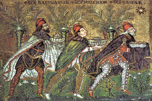 mosaic of the magi