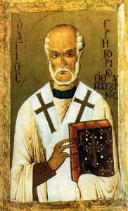 icon of St. Gregory the Wonderworker