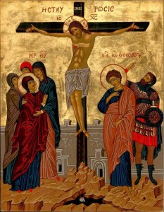 icon crucifixion