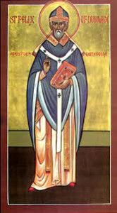 icon of st felix of dunwich