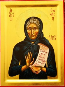 St Sophia the righteous
