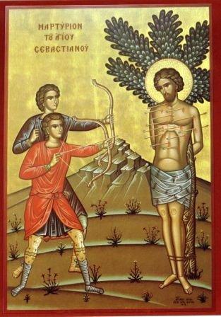 icon St. Sebastian