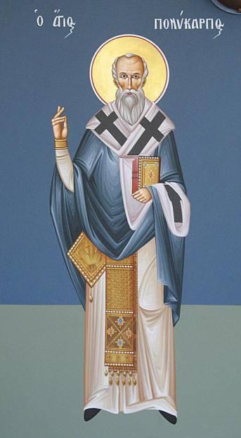 icon of st. polycarp