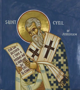 St Cyril of Jerusalem